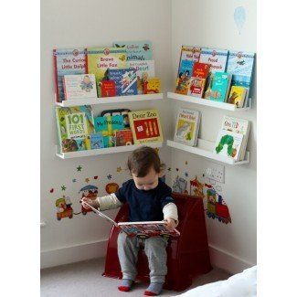 15 ideas creativas de almacenamiento de libros para niños - Hative