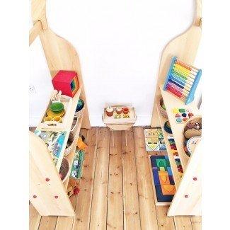 Más de 25 mejores ideas sobre el dormitorio para niños Montessori en ...