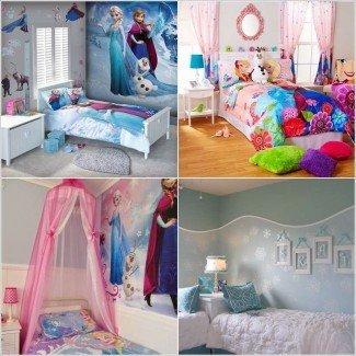 10 ideas de decoración de habitaciones infantiles inspiradas en películas congeladas
