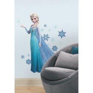 Roommates Rmk2371Gm Adhesivos de pared gigantes Elsa Peel and Stick congelados, paquete de 1