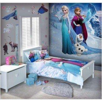10 ideas de decoración de habitaciones para niños inspiradas en películas congeladas