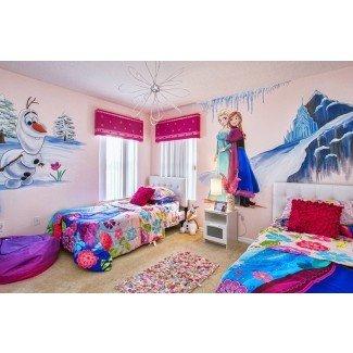 Decoración de la habitación Frozen - 10 ideas de decoración de la habitación inspirada en Frozen