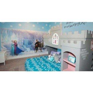 25 lindas ideas de decoración de habitaciones temáticas congeladas que sus hijos querrán