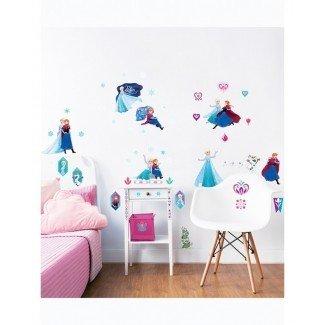 Walltastic Disney Frozen Room Decor Wall Sticker Kit