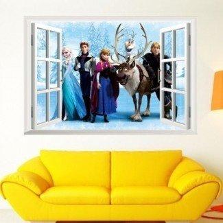 Más de 25 mejores ideas sobre la decoración de la habitación Frozen en Pinterest ...