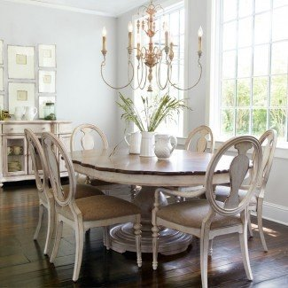 28+ [ Shabby Chic Dining Room Table ] | Mesa de comedor ...