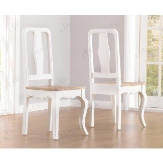 Mark Harris Sienna Shabby Chic Dining Chair (par) | Mark