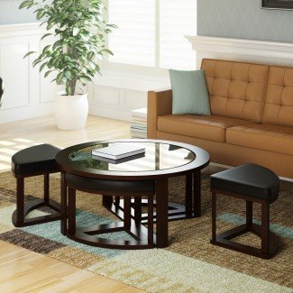 dCOR design Belgrove Mesita con 4 taburetes | eBay