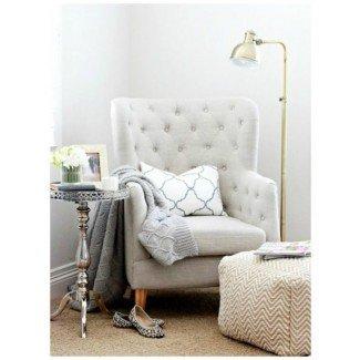 Dormitorio. Cómodas sillas de lectura diseños para dormitorio. Custom ...