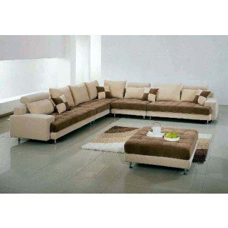 Sofás seccionales modernos extra grandes   Decoración e interior del hogar