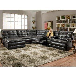 Sofás seccionales extra grandes con sillones reclinables   Sofá ...