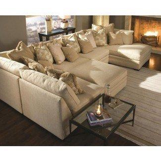 Sofás seccionales extra grandes con chaise…   Pinteres…