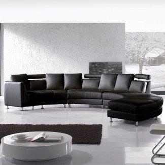 Sofás seccionales extra grandes para una sala de estar extra grande