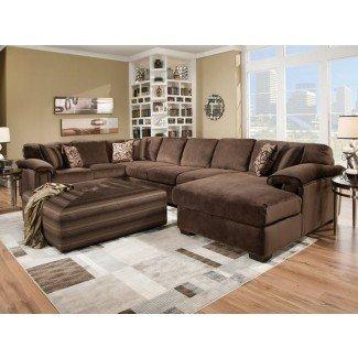 Diseño de sofá seccional extra grande - Diseño para el hogar ...