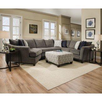 Teri Sectional de Simmons Upholstery