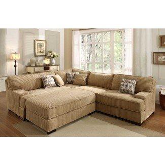 Muebles. Notable diseño de sofás seccionales extra grandes ...