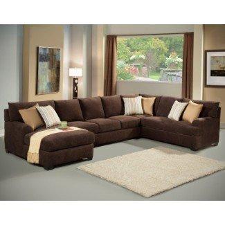 Sofás seccionales extra grandes con chaise   Chaise Design