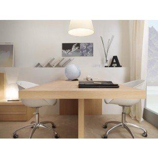 Muebles. Magnífico escritorio para 2 personas para oficina doméstica ...