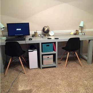 Más de 25 mejores ideas de escritorio para dos personas en Pinterest | 2