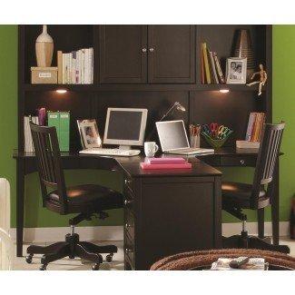 Escritorio para dos personas en el escritorio multipropósito de Liatorp para el hogar Ikea ...