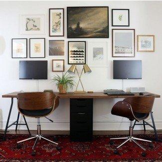 17 mejores ideas sobre el escritorio para dos personas en Pinterest |