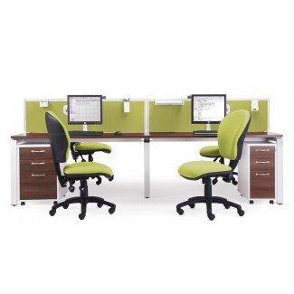 E1212 - Sistema de escritorio de banco para 2 personas - Penningtons Office