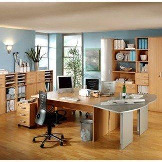 Escritorio para dos personas en el escritorio de hogar multipropósito Liakep Ikea ...