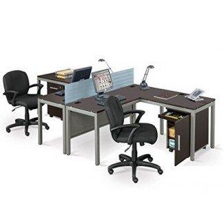 escritorio para estación de trabajo para dos personas - Computer Deskz