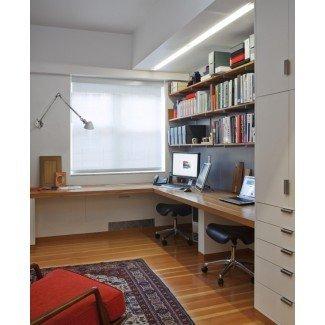 Muebles. Magnífico escritorio para 2 personas para la oficina en casa ...