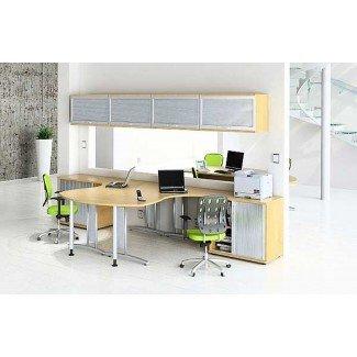 Escritorio para 2 personas Muebles de oficina para el hogar: consejos útiles de