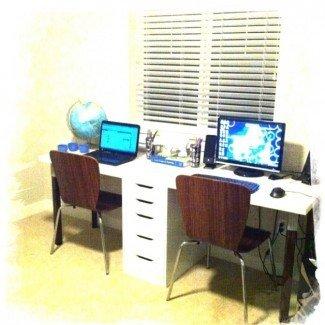 escritorio para dos personas | Ideas de bricolaje. El | Pinterest