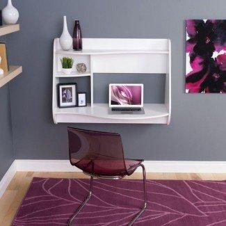 Más de 25 mejores ideas sobre el escritorio para computadora montado en la pared en ...