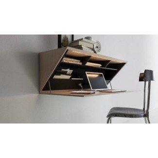 Los mejores diseños de escritorio montado en la pared para casas pequeñas