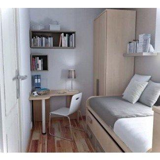 Ilumina el dormitorio pequeño Ideas-02   Pequeñas habitaciones ...
