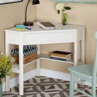 The Lovely Side: 10 opciones de escritorio para espacios pequeños