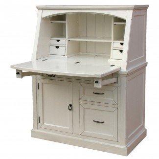 Muebles: Secreter moderno de color beige con aparador para su ...