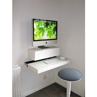 Grandes ideas de escritorio para computadora para espacios pequeños que debe ver