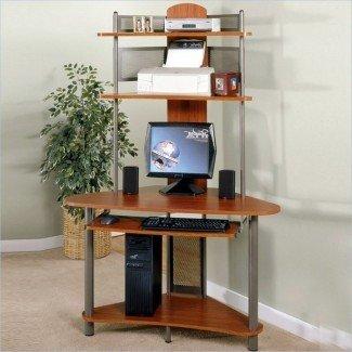 Diseño del hogar: 85 escritorio de computadora asombroso para espacios pequeños