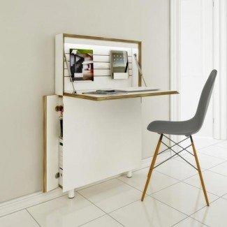Más de 1000 imágenes sobre Small Space Desk Solutions en Pinterest ...