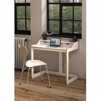 Diseño para el hogar: escritorio pequeño para escritorios de sala de estar Espacios