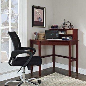 escritorios de computadora de esquina pequeños   Muebles de oficina