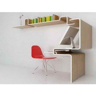 Impresionantes escritorios de computadora para espacios pequeños: diseño de interiores para el hogar