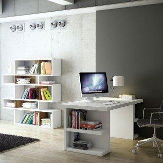 Escritorio para espacios pequeños con diseño moderno y único
