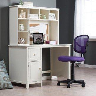 Diseño del hogar: 79 escritorios glamorosos para espacios pequeños con