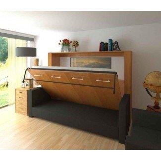 Cama Murphy horizontal con escritorio - Sentogosho