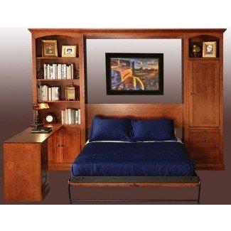 La mejor cama Murphy para mayores de 25 años con ideas de escritorio en Pinterest |
