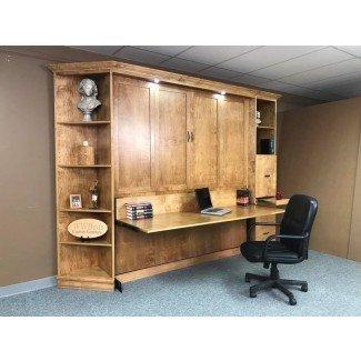 Cama frontal King Murphy con escritorio | Personalizado: por