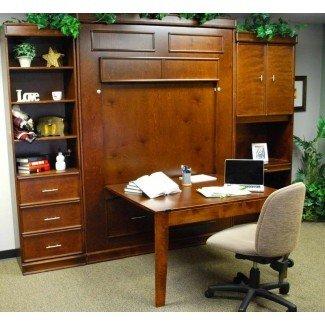 Muebles: lo que puede esperar del escritorio de la cama Murphy