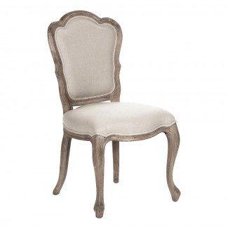 Combina las sillas de comedor con respaldo festoneado Bertha French Country ...