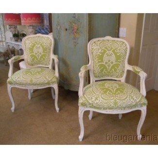 Nunca puedes tener demasiadas sillas francesas ... colección en